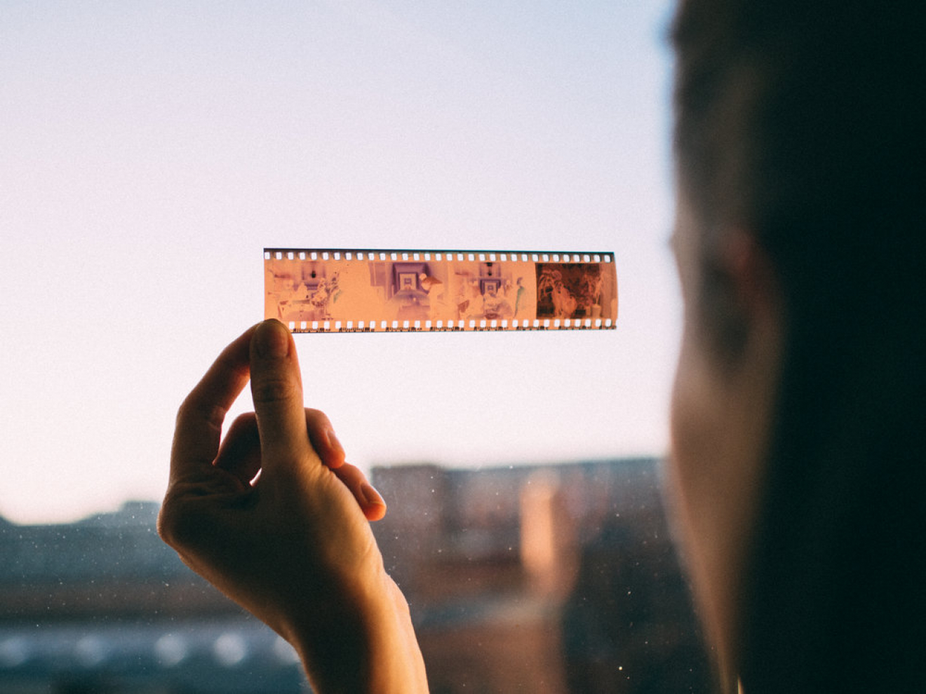 analog film strip