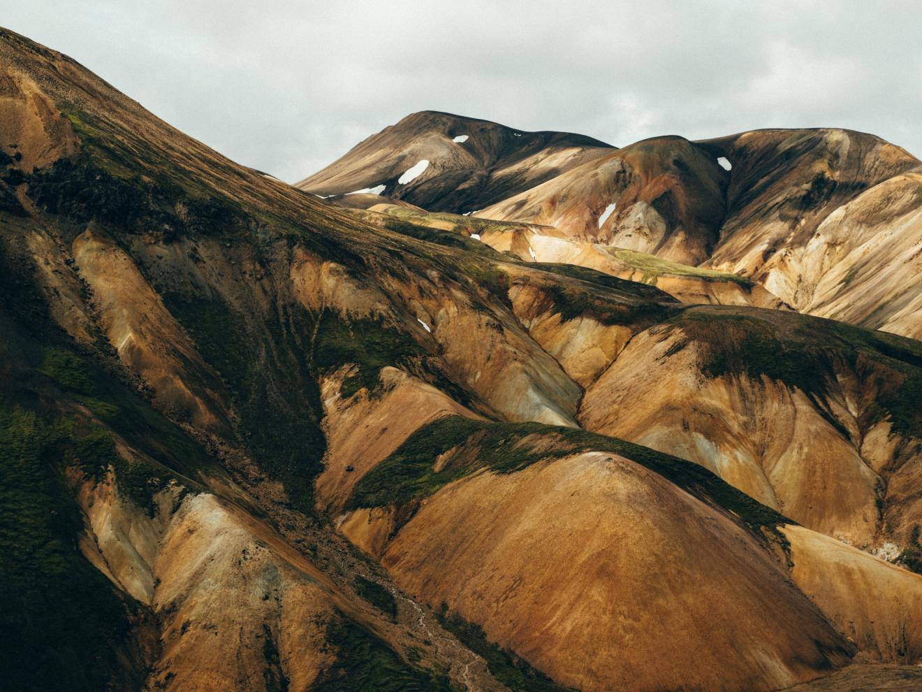 Mountain Landmannalaugar