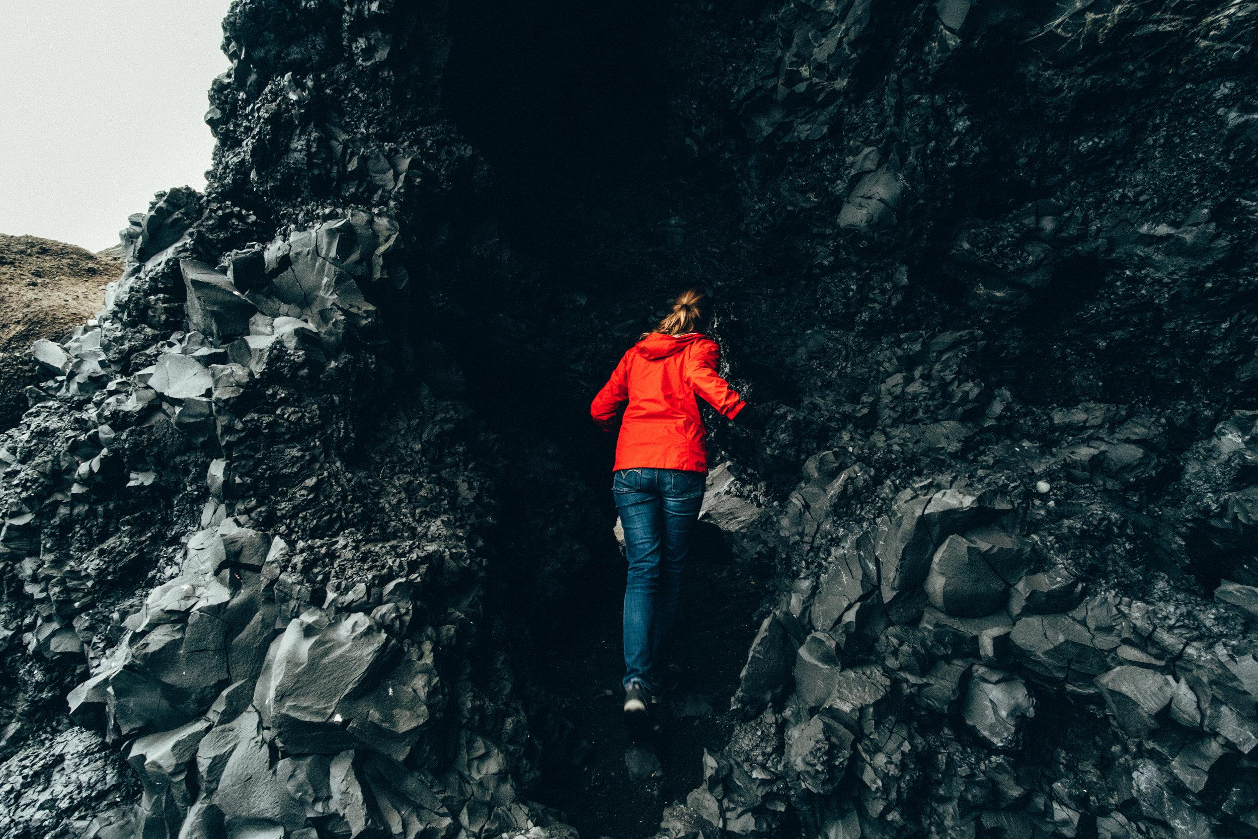 Reynisdrangar Cliffs Caves