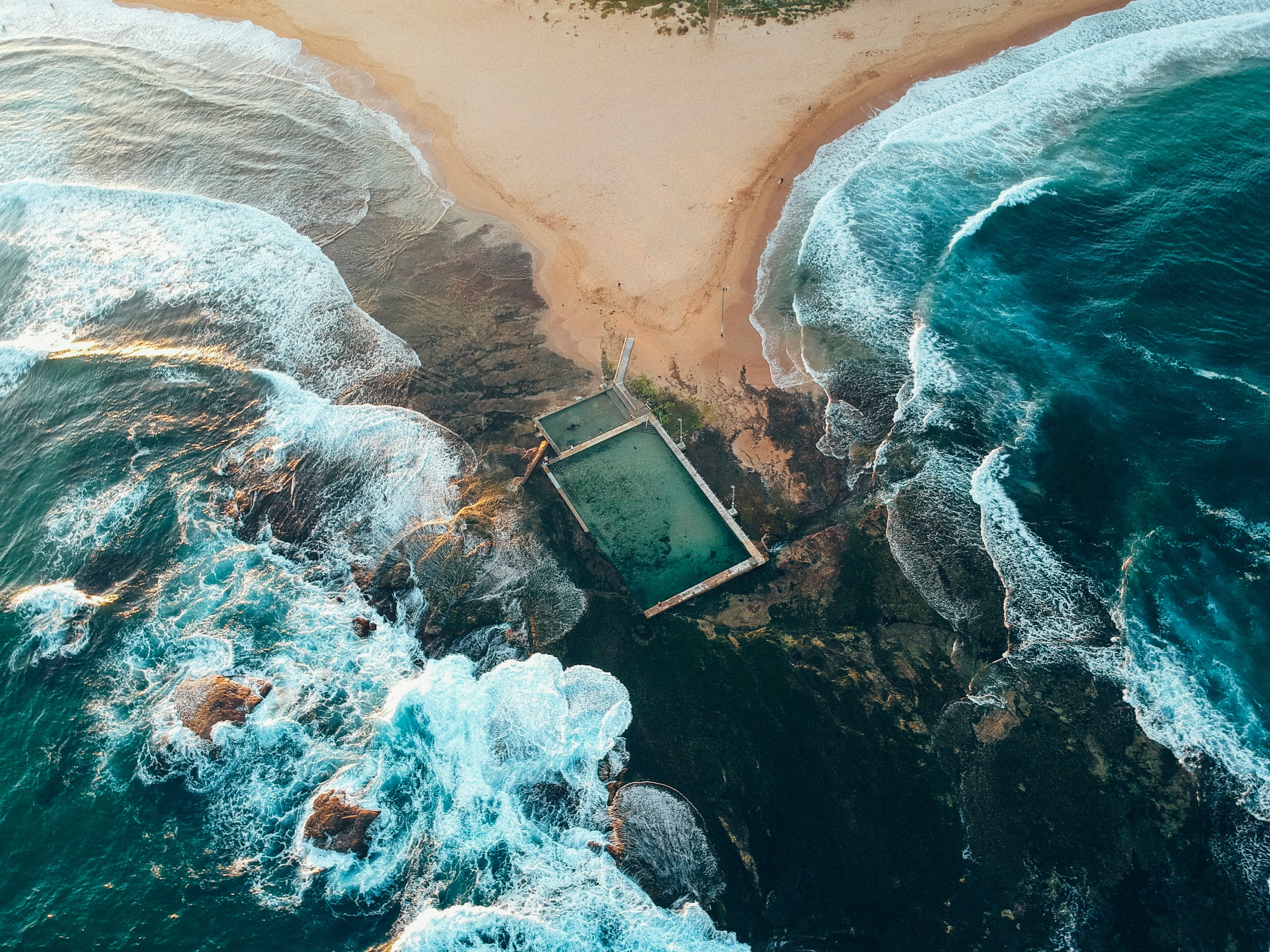 Mona Vale Rock Pool, New South Wales