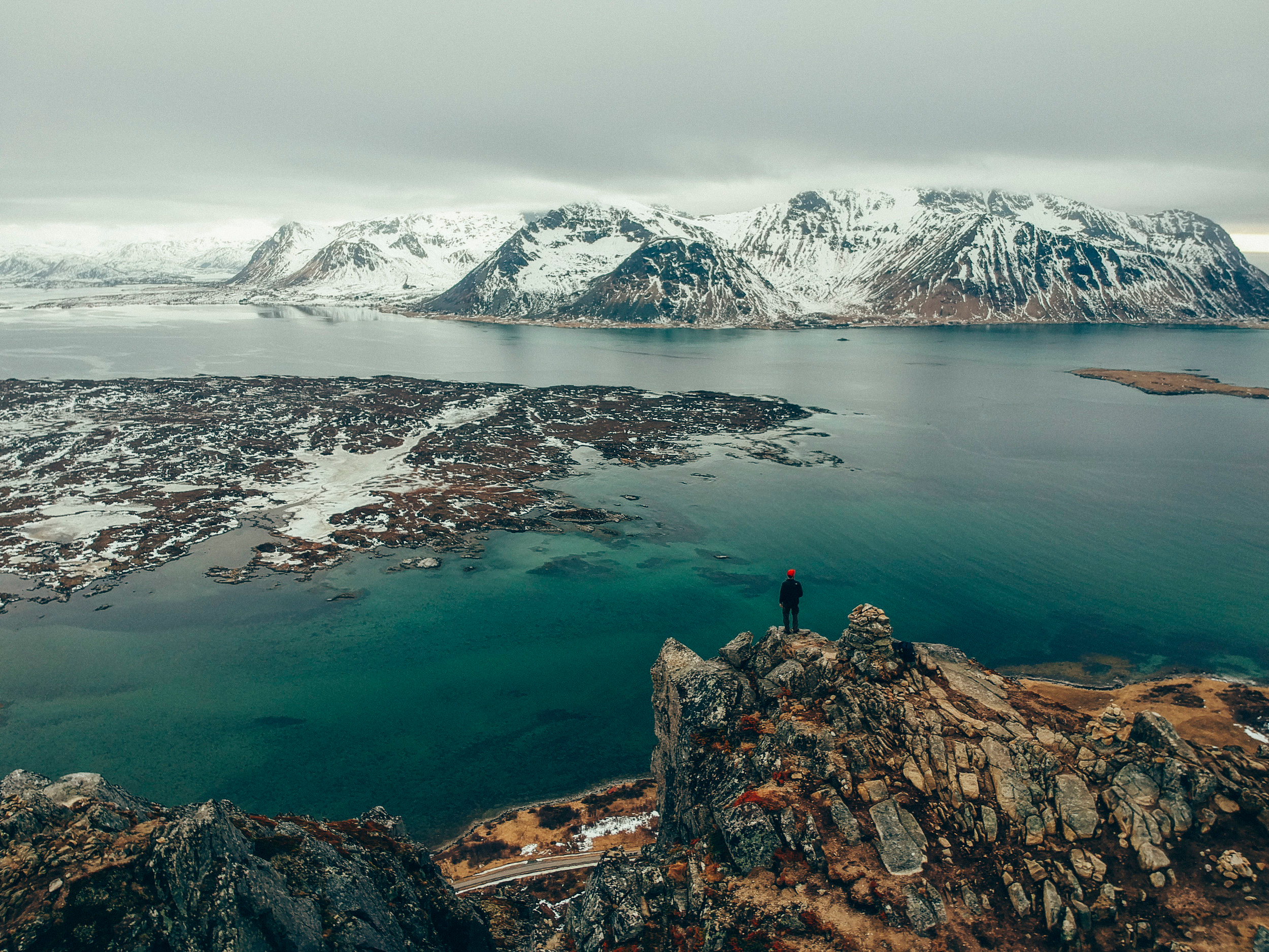 Hoven Summit, Lofoten Islands