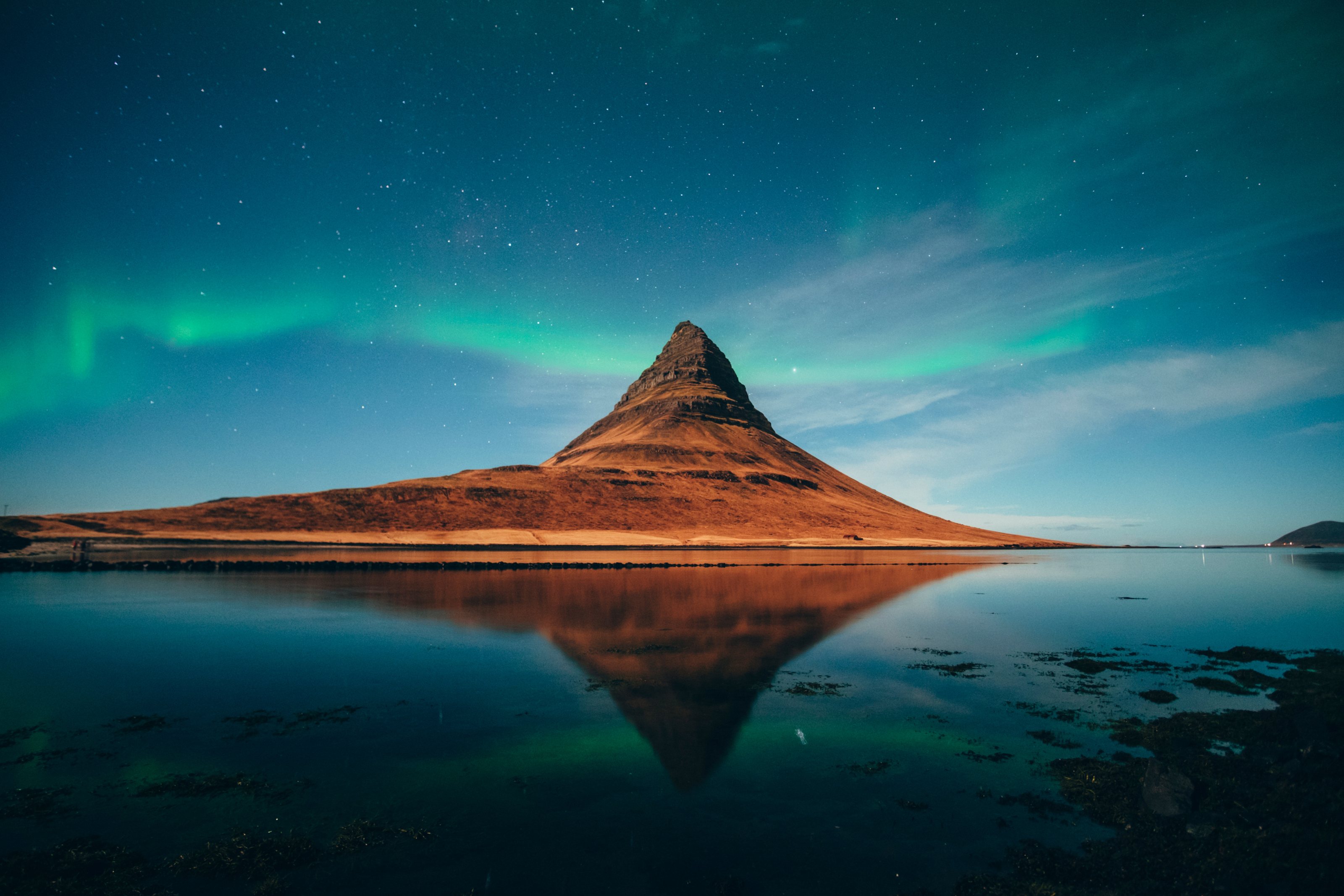Kirkjufell Northern Lights