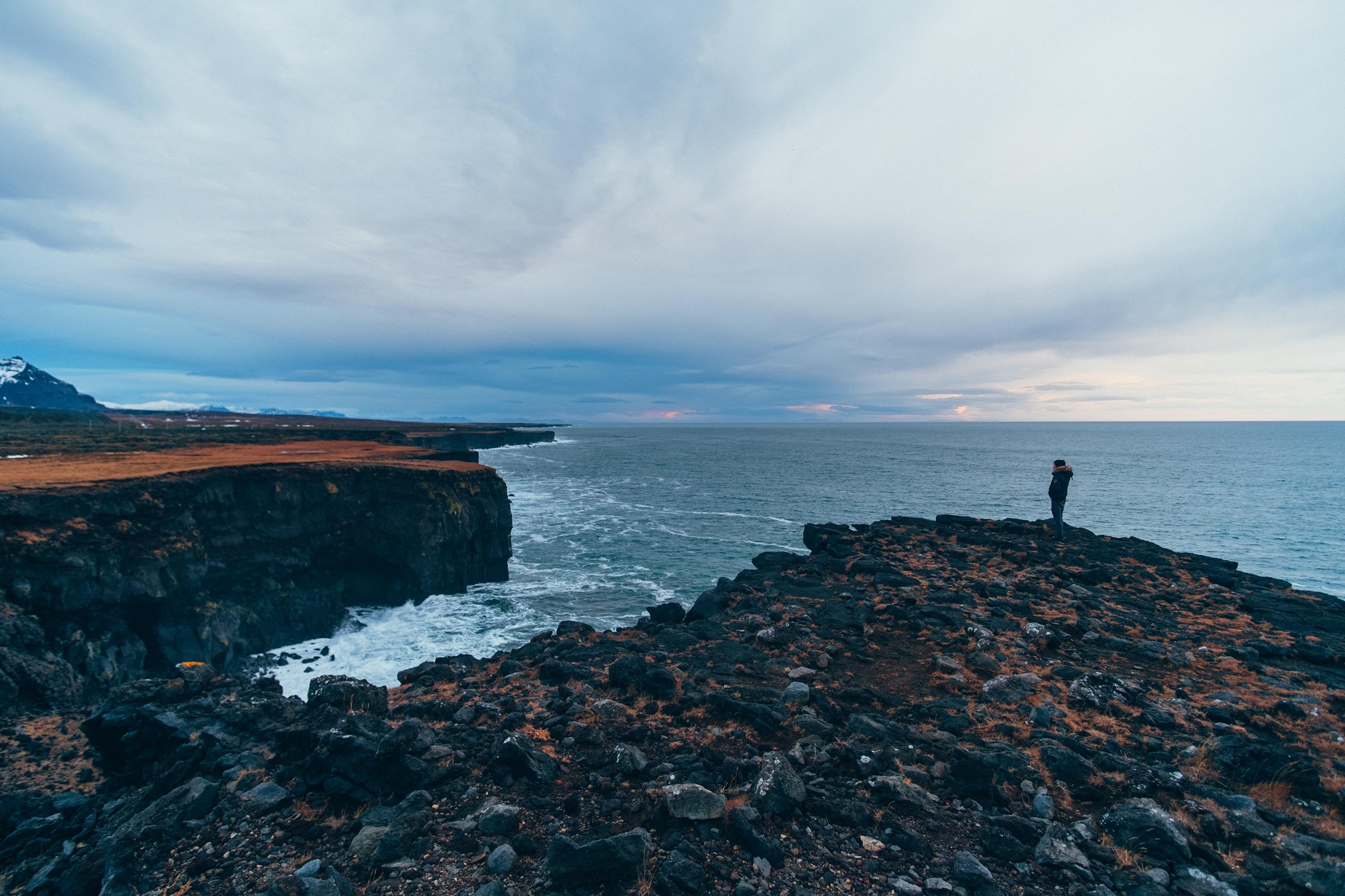 Lóndrangar Iceland Coast