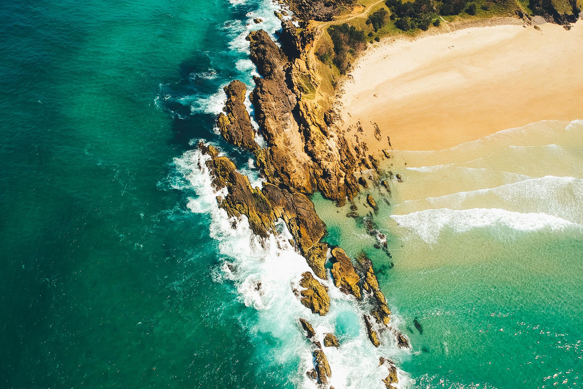 Byron Bay Cliffs