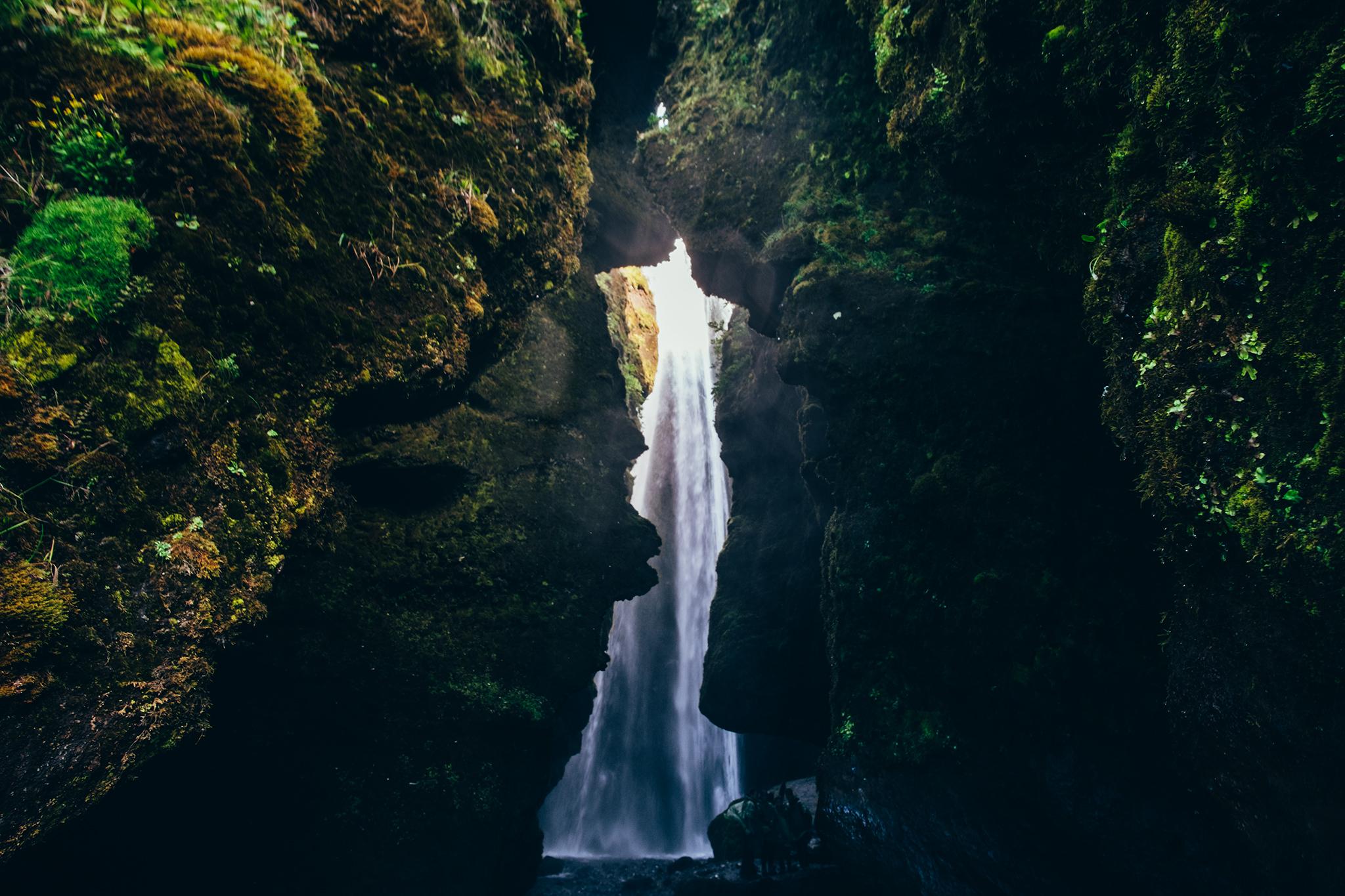 Gljúfrabúi Gorge