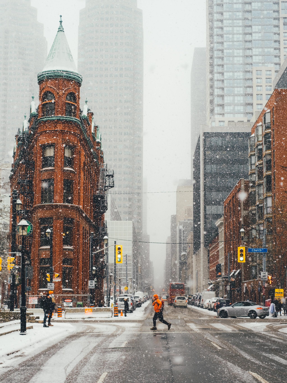 Flat Iron Gooderham Toronto
