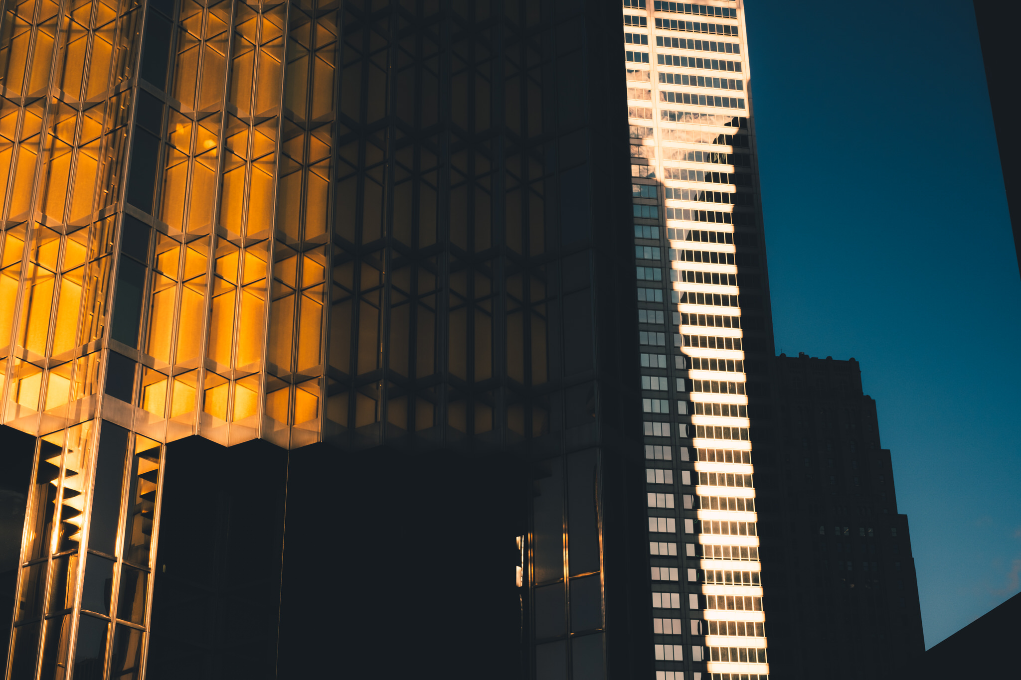 Light, Shadow, Reflection in Downtown Toronto